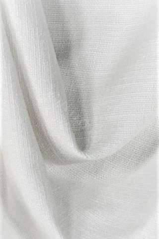 Zenith off white - Velours linnen look