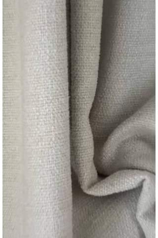 Zenith zand licht beige - Velours linnen look