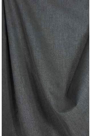 Drape grijs antraciet - lichte velours look