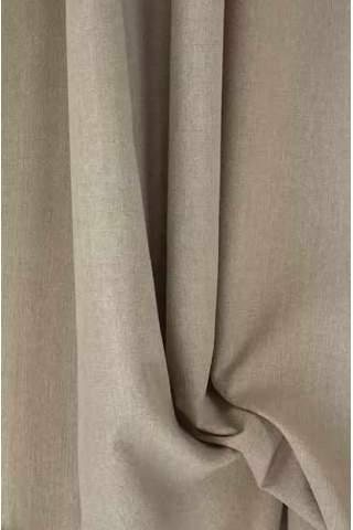 Drape warm beige - lichte velours look