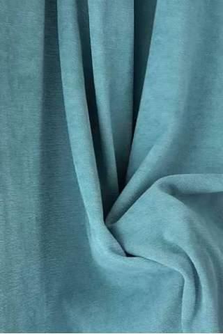 Velours blauw grijs