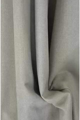 Drape licht beige - grijs - lichte velours look