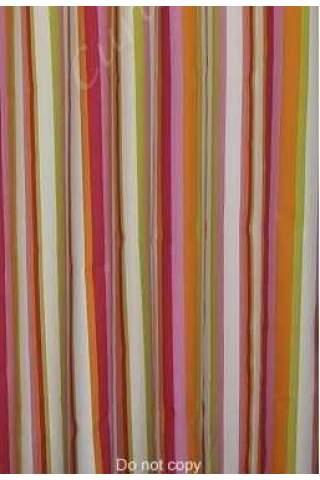 Streep roze oranje groen