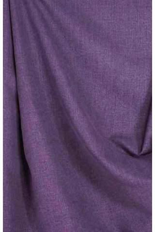 Drape paars - lichte velours look