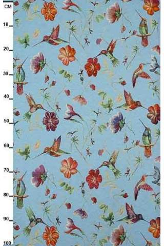 Gobelin, Kolibrie blauw