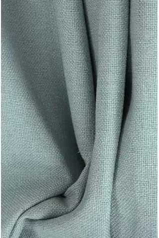Grof linnen groen grijs