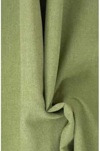 Drape groen - lichte velours look