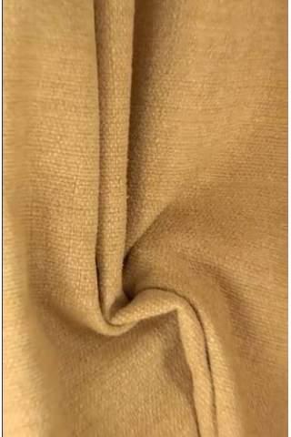 Zenith maisgeel - Velours linnen look
