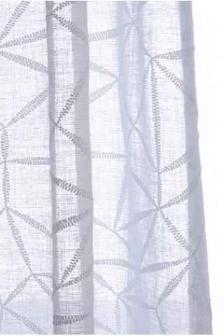 Inbetween abstrakt off white grof linnen