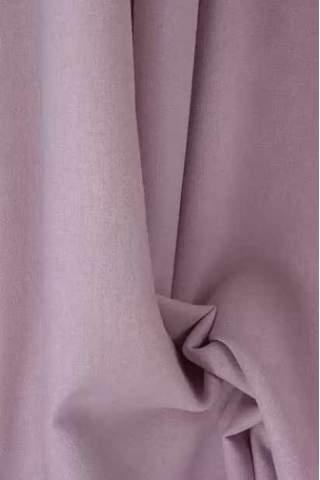 Drape zacht roze - lichte velours look