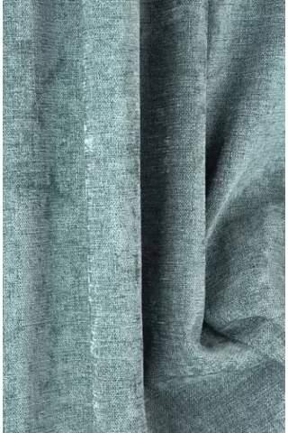 Chenille velours linnen groengrijs