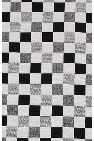Gobelin, Ruit, zwart, wit, grijs