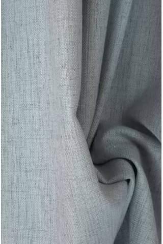 Victoria linnen ijsblauw grijs