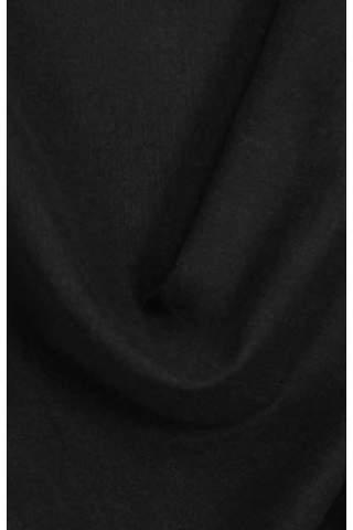 Drape zwart - lichte velours look