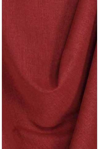 Drape bordeaux rood - lichte velours look