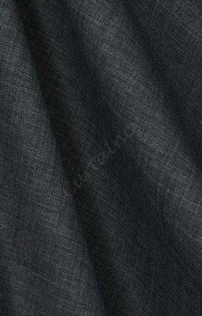 Linnenlook grijs antraciet | Uni / Linnen | Curtaincy